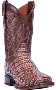 Dan Post Kingsly Caiman Western Boot - Camel - Men's Western Boots | Spur Western Wear