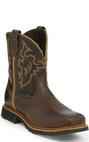 Justin Gypsy Jalena Work Boot - Soft Toe - Maple Tan - Ladies' Western Boots | Spur Western Wear