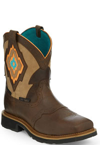 Justin Gypsy Lala Work Boot - Comp Toe - Brown Sugar - Ladies' Western Boots | Spur Western Wear