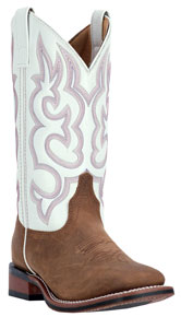 Laredo Mesquite Western Boot - White - Ladies' Western Boots | Spur Western Wear