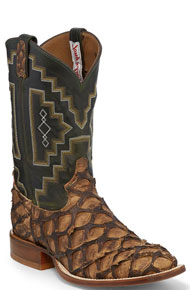 Tony Lama Leviathan Western Boot - Chocolate - Men's Western Boots | Spur Western Wear