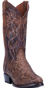 Dan Post Manning Python Western Boot - Bay Apache - Men's Western Boots | Spur Western Wear