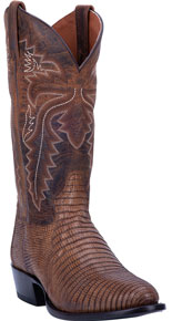 Dan Post Winston Lizard Western Boot - Bay Apache - Men's Western Boots | Spur Western Wear