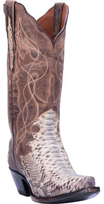 Dan Post Wicked Python Western Boot - Natural - Ladies' Western Boots | Spur Western Wear
