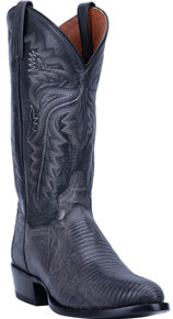 Dan Post Winston Lizard Western Boot - Grey - Men's Western Boots | Spur Western Wear