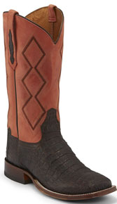 Tony Lama 1911 Forrest Caiman Western Boot - Chocolate - Men's Western Boots | Spur Western Wear