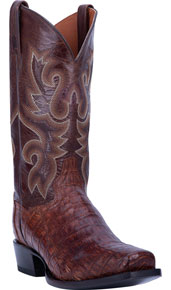 Dan Post Bayou Caiman Western Boot - Brass - Men's Western Boots | Spur Western Wear