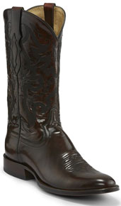 Tony Lama 1911 Patron Brushoff Western Boot - Sangria - Men's Western Boots | Spur Western Wear