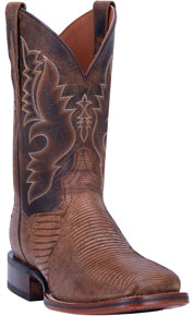 Dan Post Thompson Lizard Western Boot - Bay Apache - Men's Western Boots | Spur Western Wear