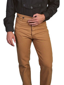 Wah Maker Canvas Duckins Frontier Pant  - Men's Old West Pants | Spur Western Wear