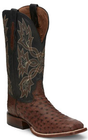 Tony Lama Royston Kango Full Quill Ostrich Western Boot - Men's Western Boots | Spur Western Wear