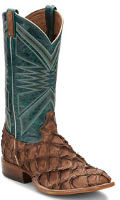 "Tony Lama Leviathan Chocolate Western Boot 13"" - Men's Western Boots 