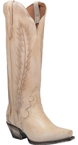 Dan Post Valli Western Boot - Off White - Ladies' Western Boots | Spur Western Wear