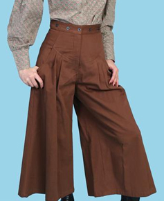 Scully Brushed Twill Riding Pant - Brown - Ladies' Old West Skirts and Pants | Spur Western Wear