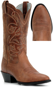 Ariat® Heritage Western R Toe Western Boot - Russet Rebel - Ladies' Western Boots | Spur Western Wear