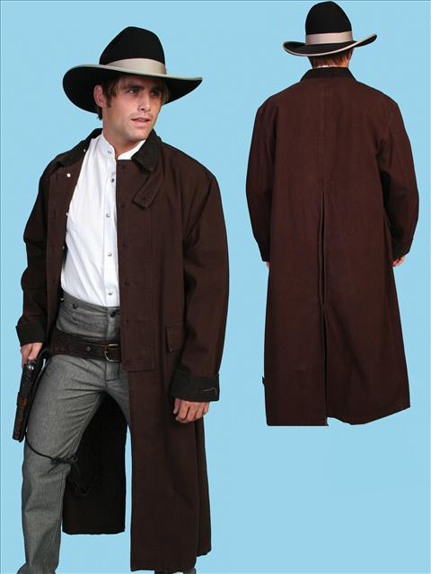 Scully Canvas Duster Walnut Men S Frock Coats And