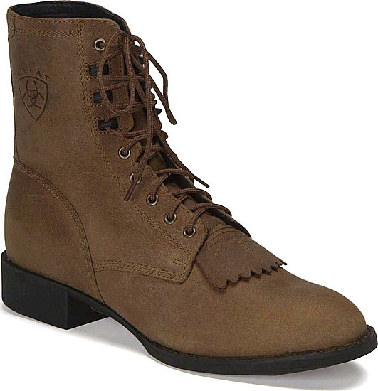 Ariat<sup>®</sup> Heritage Lacer Western Boot - Distressed Brown