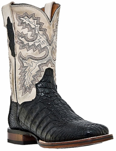 Dan Post Denver Caiman Western Boot - Black
