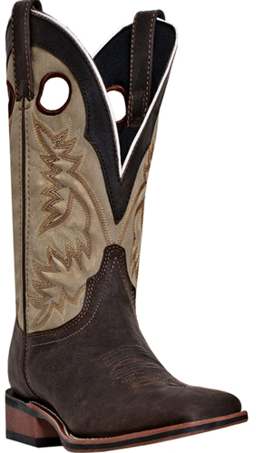 Laredo Collared Western Boot - Brown