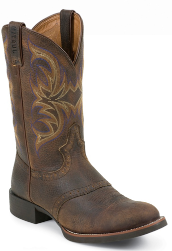 Justin Murray Western Boots - Brown