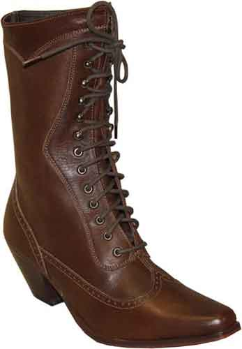 Abilene Ladies Vintage Lace Up Boot