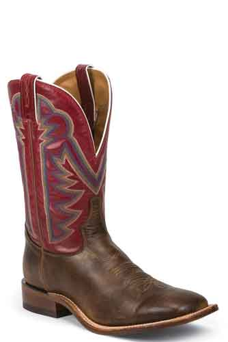 Tony Lama Dylan Western Boot - Red