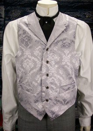 Frontier Classics Silver Reno Old West Vest - Men's Old West Vests and Jackets | Spur Western Wear