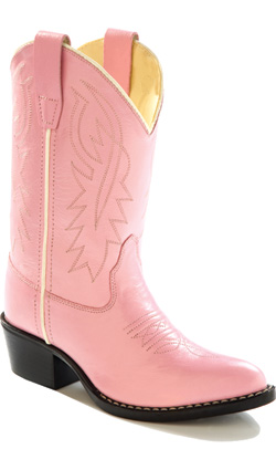 Jama Old West Cowgirl Boot - Pink