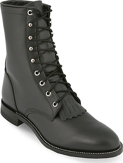 Justin Lacer Boots - Black